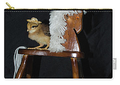 Me And My Rocking Horse Carry-all Pouch by Donna Brown