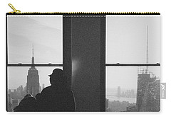 Me And Nyc Carry-all Pouch by J Montrice