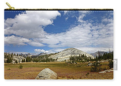 John Muir Trail High Sierra Camp Meadow Carry-all Pouch by Amelia Racca