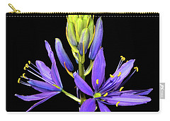 Meadow Hyacinth 002 Carry-all Pouch by George Bostian
