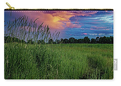 Carry-all Pouch featuring the photograph Meadow Lark by Kendall McKernon
