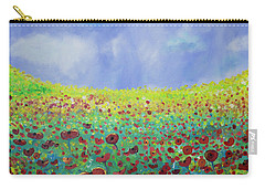 Meadow Of Poppies  Carry-all Pouch