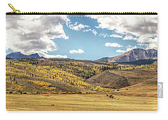Meadows Aspen And Mountains Carry-all Pouch by Stephen Johnson