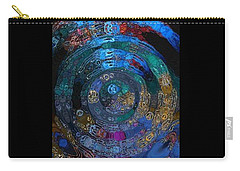 Medallion Batik Carry-all Pouch by Alika Kumar