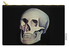 Medical Skull  Carry-all Pouch by James Christopher Hill