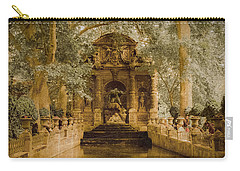 Paris, France - Medici Fountain Oldstyle Carry-all Pouch