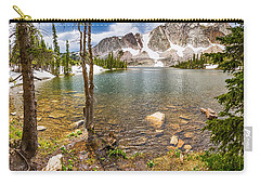 Medicine Bow Snowy Mountain Range Lake View Carry-all Pouch