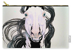 Medicine Hat Tobiano Carry-all Pouch by Cheryl Poland