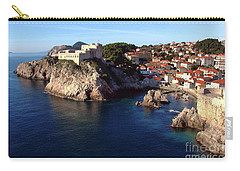 Medieval Fortresses Lovrijenac And Bokar Dubrovnik Carry-all Pouch