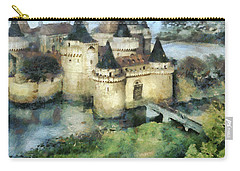 Medieval Knight's Castle Carry-all Pouch by Sergey Lukashin