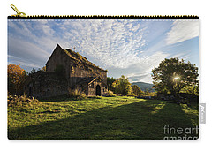 Medieval Tezharuyk Monastery During Amazing Sunrise, Armenia Carry-all Pouch