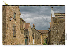 Medieval Village In France Carry-all Pouch