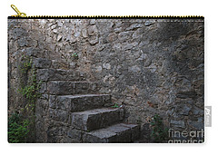 Medieval Wall Staircase Carry-all Pouch by Angelo DeVal