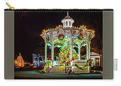 Medina, Ohio Christmas On The Square. Carry-all Pouch