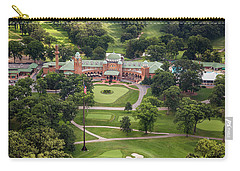 Carry-all Pouch featuring the photograph Medinah Country Club by Adam Romanowicz