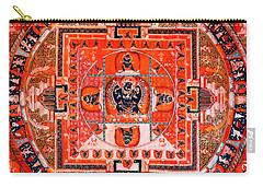 Meditation Yoga Mandala Yuan Dynasty Carry-all Pouch