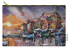 Mediterranean Motif IIi      Carry-all Pouch