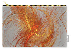 Medusa Bad Hair Day - Fractal Carry-all Pouch by Menega Sabidussi