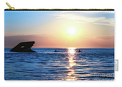 Meet Me At Sunset Carry-all Pouch by Colleen Kammerer