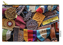 Carry-all Pouch featuring the photograph Meet Medals by Christopher Holmes