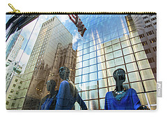 Carry-all Pouch featuring the photograph Meet The New Boss by Alex Lapidus
