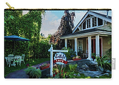 Carry-all Pouch featuring the photograph Meet You At Sally's - Chesapeake Art by Jordan Blackstone