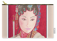 Mei Ling -- Portrait Of Woman From Chinese Opera Carry-all Pouch