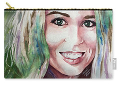 Carry-all Pouch featuring the painting Meka by Michal Madison