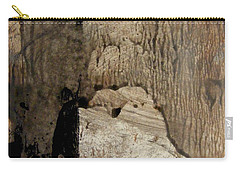 Carry-all Pouch featuring the painting Melancholy  by Nancy Kane Chapman