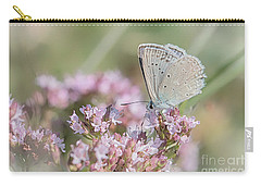 Meleagers Blue Butterfly Carry-all Pouch