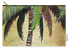 Mellow Palm I Carry-all Pouch by Kristen Abrahamson