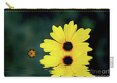 Mellow Yellow Carry-all Pouch by Adrian LaRoque