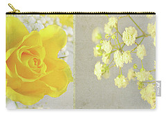 Carry-all Pouch featuring the photograph Mellow Yellow by Lyn Randle