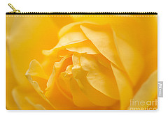 Mellow Yellow Rose Carry-all Pouch