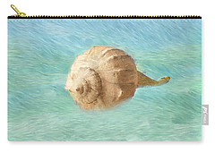 Carry-all Pouch featuring the photograph Melody Of The Sea by Betty LaRue