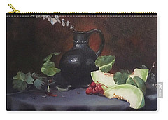 Melon And Vase Carry-all Pouch