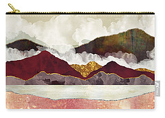 Melon Mountains Carry-all Pouch by Katherine Smit