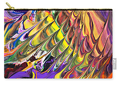 Melted Swirl Carry-all Pouch