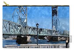 Memorial Bridge Mbwc Carry-all Pouch by Jim Brage