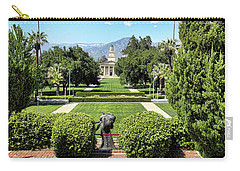 Memorial Chapel University Of Redlands Carry-all Pouch by Mariola Bitner