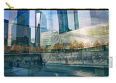 Carry-all Pouch featuring the photograph Memorial Collage by Jessica Jenney