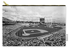 Memorial Day At Kauffman Stadium Bw Carry-all Pouch