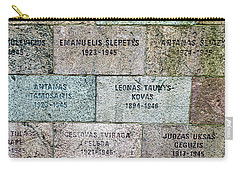 Memorial To Resistance Fighters Carry-all Pouch