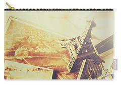 Memories And Mementoes Of Travelling France Carry-all Pouch by Jorgo Photography - Wall Art Gallery