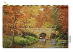 Memories At Stone Bridge Carry-all Pouch
