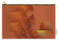 Carry-all Pouch featuring the digital art Memories by Giada Rossi