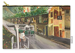 Memories Of Commonwealth - Close Up View Of Apartments Carry-all Pouch by Belinda Low