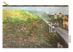 Memories Of Commonwealth - Wall II Carry-all Pouch by Belinda Low
