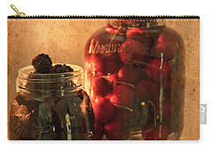 Memories Of Jams, Preserves And Jellies  Carry-all Pouch by Sherry Hallemeier