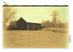 Memories Of Long Ago - Barn Carry-all Pouch by Susan Lafleur